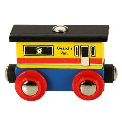 Wagonik końcowy do pociągu z literek i cyferek