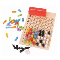 MasterMind - Łamacz kodów - gra drewniana