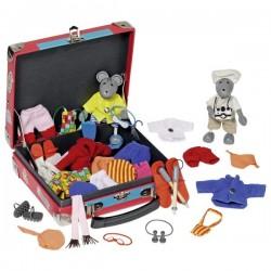 Myszki w walizce do przebierania w podróży GOKI