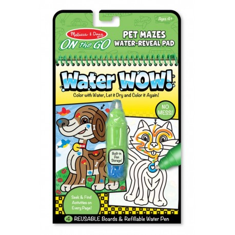 Malowanka wodna Labirynty WaterWOW