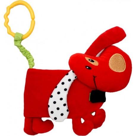 Książeczka dla dziecka - piesek czerwony