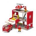 Remiza strażacka z akcesoriami