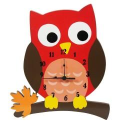 Zegar do pokoju z sową Zaczarowany las