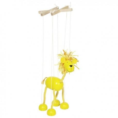 Marionetka z krzyżakiem Lew
