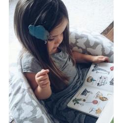 Fotelik z pianki dla dzieci - motylki