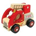 Autko drewniane - Straż pożarna