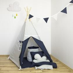"""Namiot tipi dla dziecka """"Wieczorna baśń"""" - zestaw mini"""