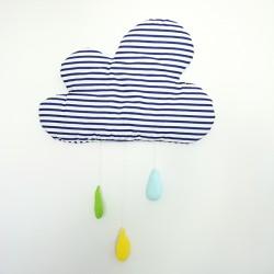 Zawieszka chmurka z kroplami Marynarski sen