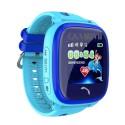 Wodoodporny dotykowy zegarek lokalizacyjny z GPS wodoodporność IP67 KIDDO MIZU TOUCH niebieski