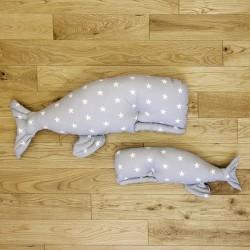 Poduszka wieloryb Bajkowe królestwo duża