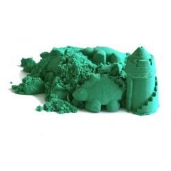 Zielony piasek kinetyczny ColorSand - 1 kg
