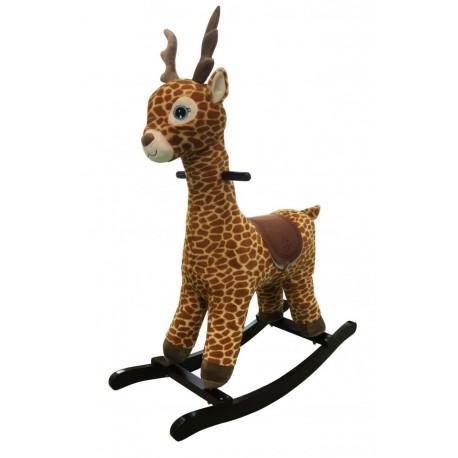 Żyrafa na biegunach - interaktywna zabawka