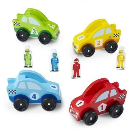 Wyścigówki z kierowcami