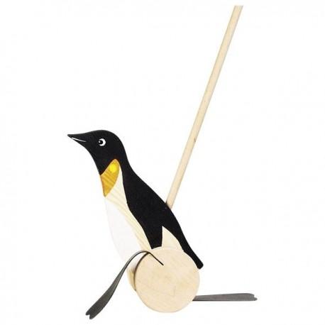 Pingwin na patyku