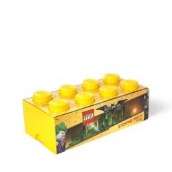 Pojemnik w kształcie klocka LEGO 8 - żółty