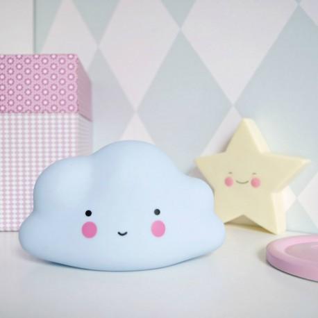 Lampka dla dziecka chmurka - biała