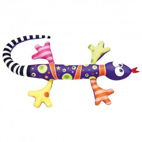 Jaszczurka fioletowa, gniotek przytulanka - aż 80 cm długości