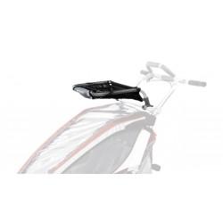 THULE Chariot - Bagażnik do przewożenia ładunku do podwójnego wózka, do modeli wyprodukowanych do 2016 roku