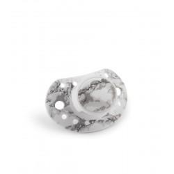 Elodie Details - Smoczek uspokajający 3 m+, Marble Grey