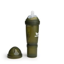 Herobility - butelka antykolkowa Herobottle 240 ml, zielony