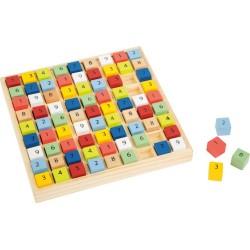 Gra logiczna - Kolorowe sudoku