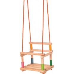 Huśtawka drewniana Premium do 50kg z CE