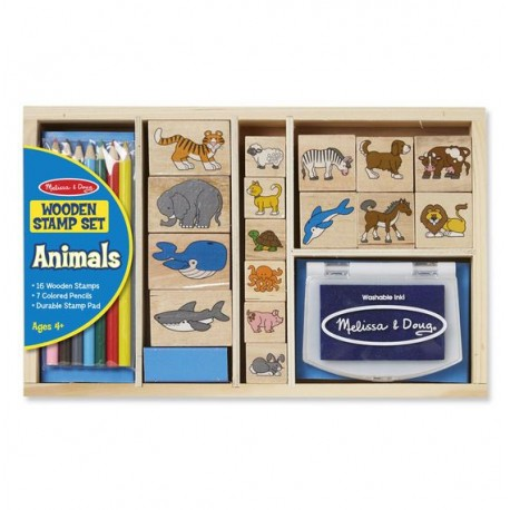 Stempelki Animals - zestaw