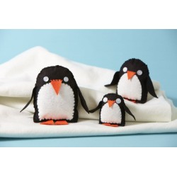 Zestaw kreatywny - Rodzina pingwinów