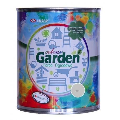 Farba ogrodowa GardenColour szara 0,75l