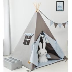 Namiot tipi dla dziecka Błękit Poranka - zestaw