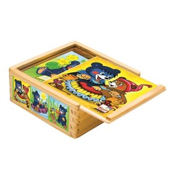 Puzzle sześcienne kostki miś Baribal