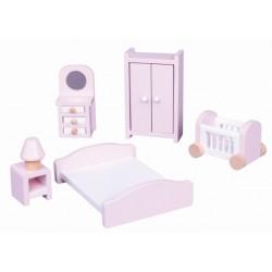 Mebelki dla lalek sypialnia