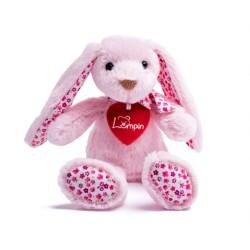 Maskotka króliczek Stella różowa