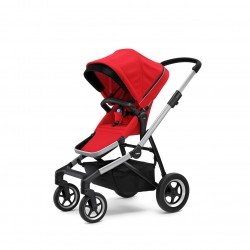 Thule Sleek - rama + siedzisko spacerowe - Energy Red
