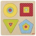 Goki puzzle warstwowe geometryczne