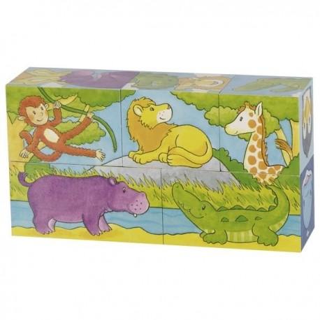 Magiczne kostki ze zwierzętami