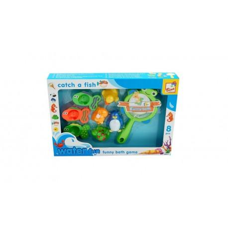 Zabawka do kąpieli siatka z morskimi zwierzętami