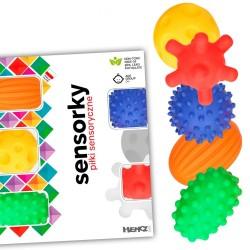 Piłeczki sensoryczne 5 sztuk w pudełku