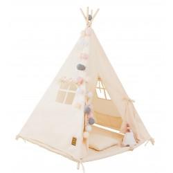 Namiot tipi dla dziecka Natural - zestaw