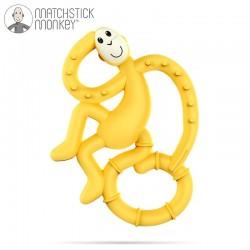 Matchstick Mini Monkey Yellow Gryzak Masujący
