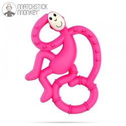 Matchstick Mini Monkey Pink Gryzak Masujący