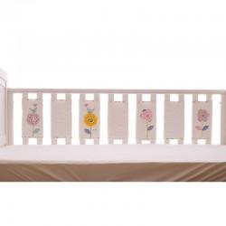 Bizzi Growin PRIMROSE Bumper sensoryczny ochraniacz do łóżeczka