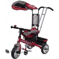 Rowerek trójkołowy Luxus Trike - czerwony