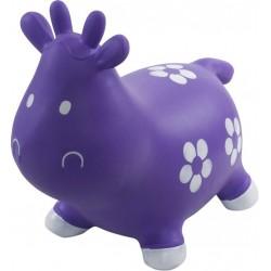 Skoczek krówka - fioletowa