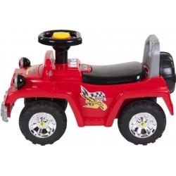 Jeździk Jeep ze światłami - czerwony