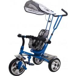 Rowerek trójkołowy Super Trike - niebieski
