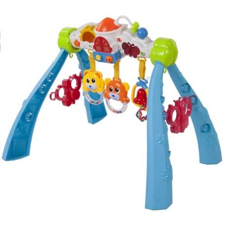 Stojak gimnastyczny dla niemowląt