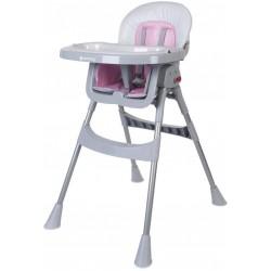 Krzesełko Comfort Basic - różowe