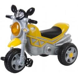 Jeździk motocykl Chopper - żółty