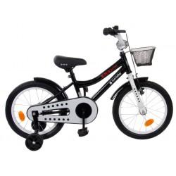 "Rowerek BMX 16"" Junior czarny"